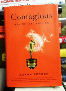 "My copy of ""Contagious"""
