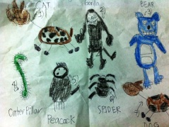 My 5th grader nephew's drawing